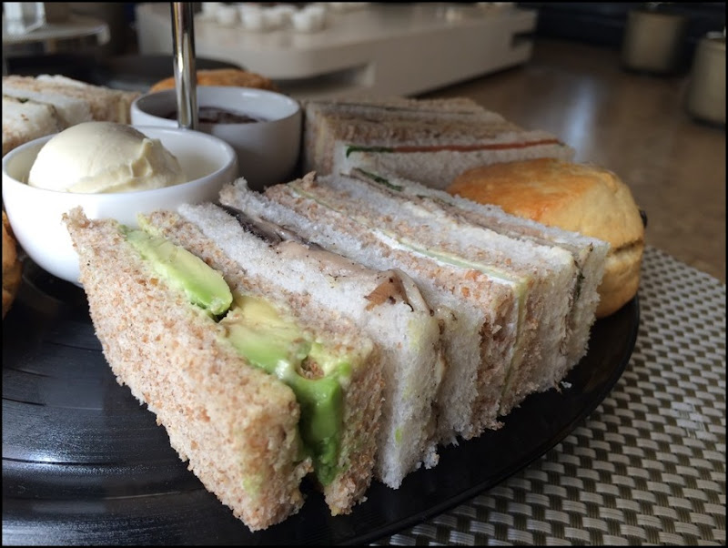 Gang of Four Sandwiches Anarch Tea W Hotel Leicester Square