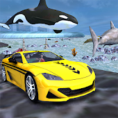 Underwater Taxi Driving Game