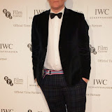WWW.ENTSIMAGES.COM -   Giles Deacon    arriving at       IWC Schaffhausen and BFI London Film Festival - private dinner at Battersea Evolution, London October 7th 2014Swiss watch brand and British Film Institute host party to celebrate their three year partnership.                                                Photo Mobis Photos/OIC 0203 174 1069
