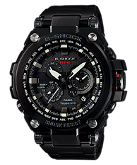 Jam Tangan Pria Sporty Hitam Rose Gold Casio G-Shock : GA-400GB-1A4