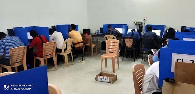 श्यामा आईटीआई में जेईई मेंस की 4 दिवसीय परीक्षा सम्पन्न
