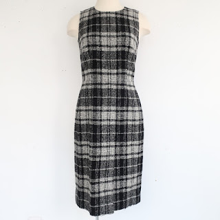 Dolce & Gabbana Plaid Sheath Dress