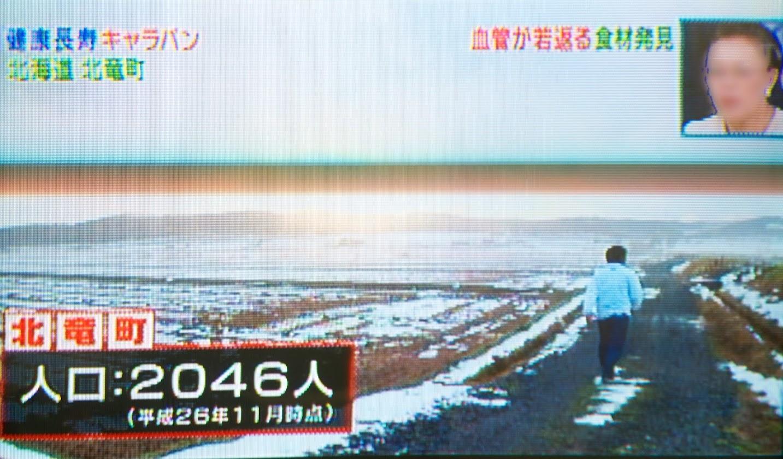 北海道北竜町(人口 2,046人:平成26年11月現在)