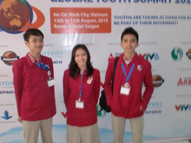 TIM SMAN 1 MAGETAN DI GYS 2015, HO CHI MINH, VIETNAM