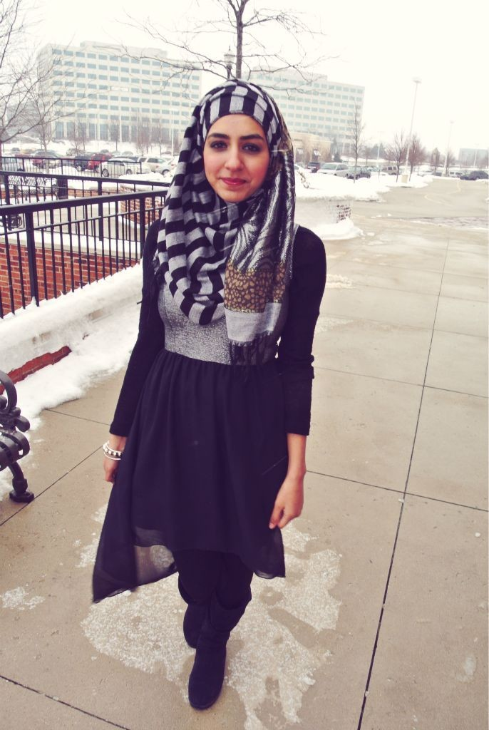 Trendy Winter Outfit Fashion Hijab Styles 2016 Styles 7