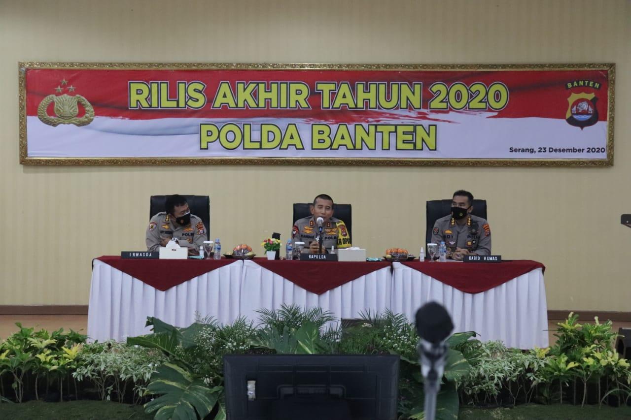 Operasi Jaran Kalimaya 2020, Polda Banten Ungkap 214 Unit Hasil dari Curanmor