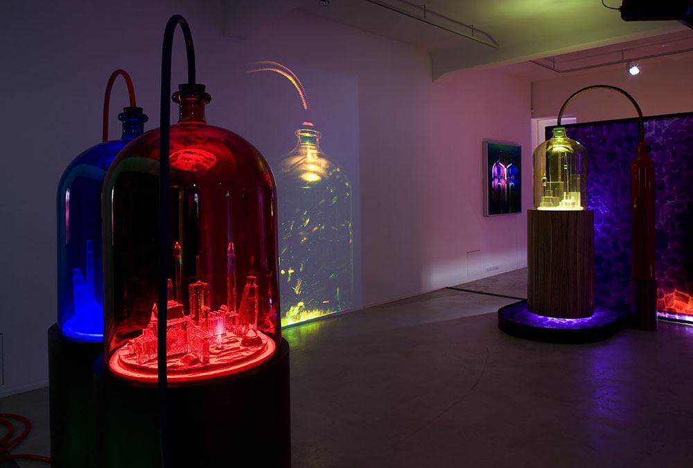 Kandor Series by Mike Kelley. Photo from the Jablonka Galerie