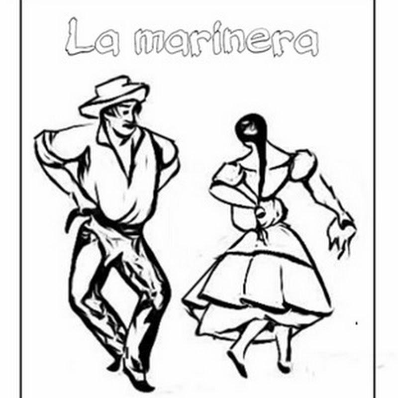 Colorear bailes tradicionales de Perú
