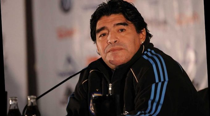 Maradona Fell And Hit His Head Days Before He Died And Was Left Alone 'Without Help' - Nurse Claims