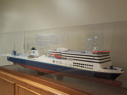 Marine Atlantic Ferries St John's, Newfoundland office memorabilia