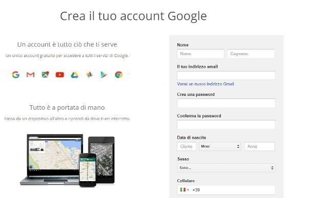 nuovo-account-google