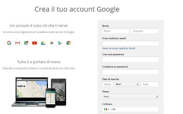 nuovo-account-google