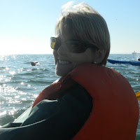 Kayaking off Pelican Point