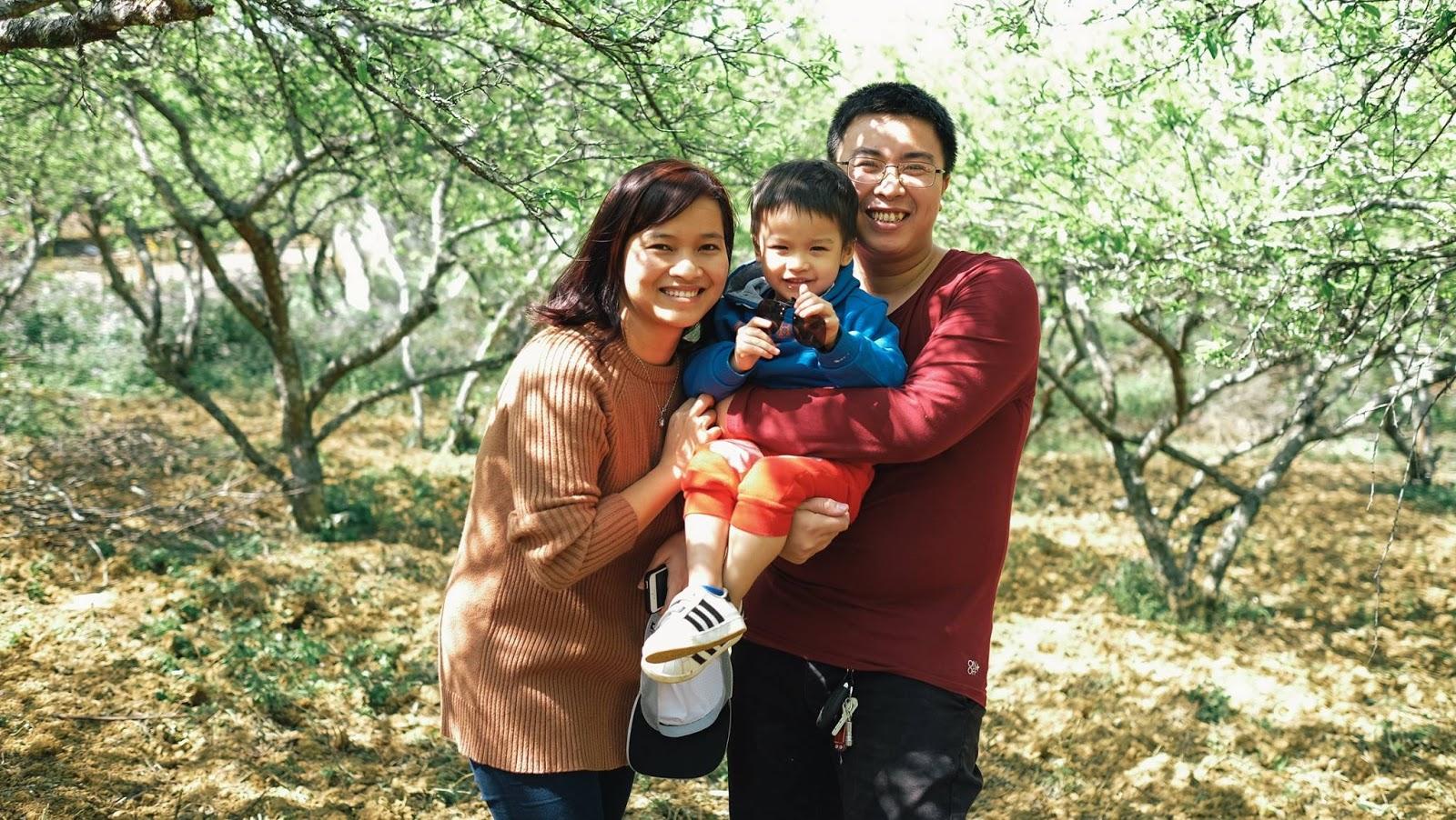Gia đình anh Trung Béo chị Hạnh My