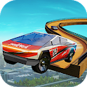 Cyber truck Ramp Car Extreme Stunts GT Racing Free icon