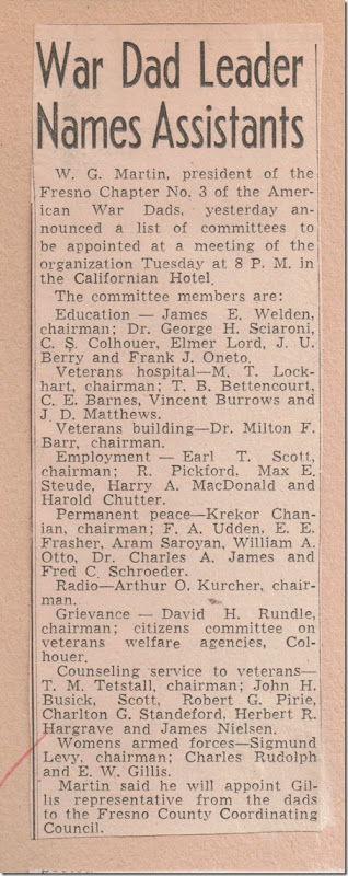 War Dad Leaders Fresno Bee 6_30_1944 page 9