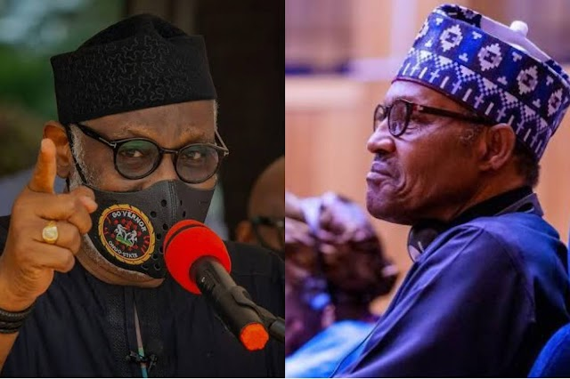 Gov. Akeredolu slams Buhari for saying he lacks the Power to chase Herdsmen away from Ondo forests