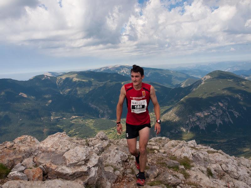 Abel Codina, corredor dels Mountain Runners del Berguedà