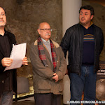 Algunos de los miembros del Jurado del Concurso Internacional de Guitarra Alhambra para Jóvenes. CIGAJ 2013, José Lázaro Villena, guitarrista, compositor y catedrático del Conservatorio, y Francisco Gil, concertista.