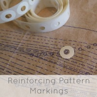 reinforcing pattern markings
