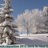 Séjours Massif du Jura février et mars 2012