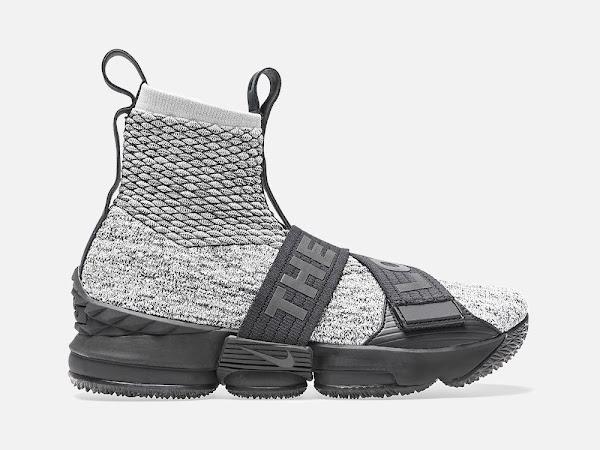 Detailed Look at KITH X Nike LeBron 15 Lifestyle Concrete