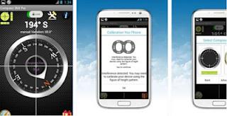 rekomendasi aplikasi compass android kompas 360 pro
