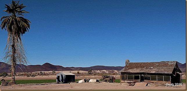 Old western homestead