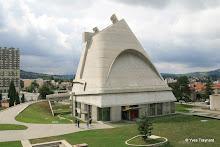 Firminy : Eglise Saint-Pierre (Le Corbusier)