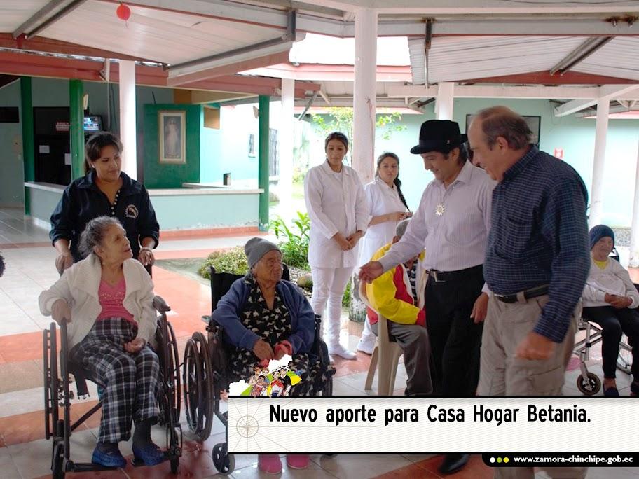 NUEVO APORTE PARA CASA HOGAR BETANIA
