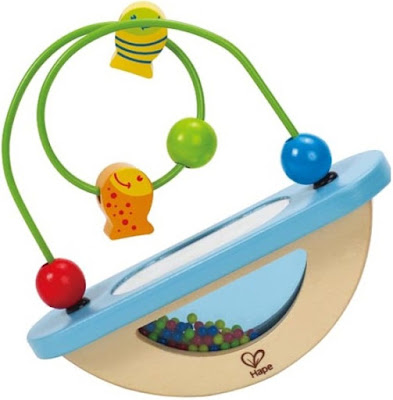 Hình ảnh đồ chơi Luồn hạt Cá vui nhộn Hape Fish Bowl Fun