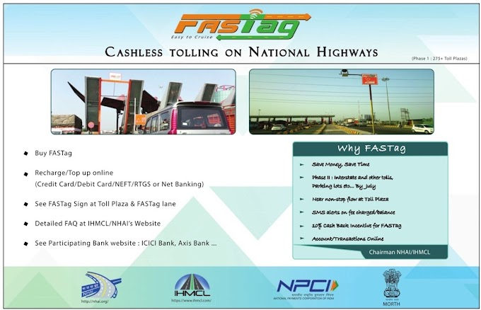 FastTag now operational across 275 highways in India, pay online and zip through
