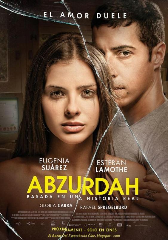 Abzurdah fecha de estreno poster pelicula argentina for Chismes del espectaculo argentino 2015
