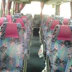 Het interieur van de Vanhool van South West Tours bus 54 ( nu van MM Travel )