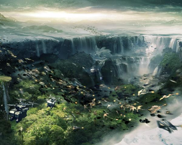 Waterfall Of Universe, Magical Landscapes 2