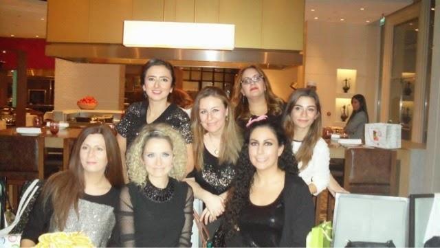 blogger buluşması - event - grand hyat hotel - event -pembedefter - bademle buduk - güzellik kazanı - audreyin şekerleri