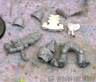 Space Marine bits