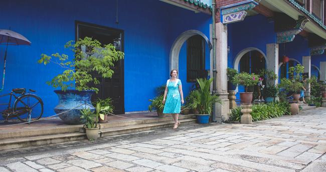 Cheong Fatt Tze - The 18th Blue Mansion, Penang Island, Malaysia | Lavender & Twill