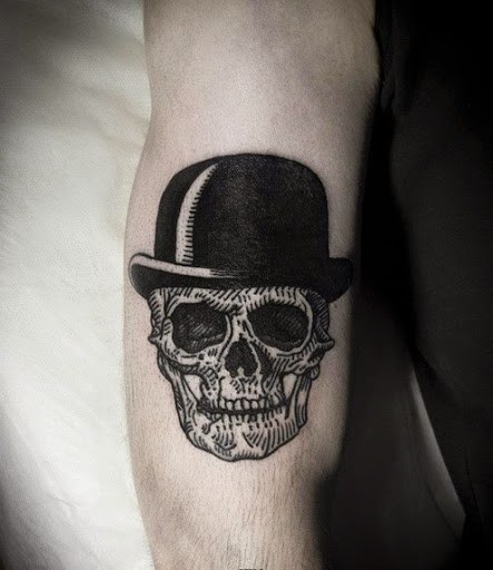 top 55 best skull tattoos designs and ideas. Black Bedroom Furniture Sets. Home Design Ideas