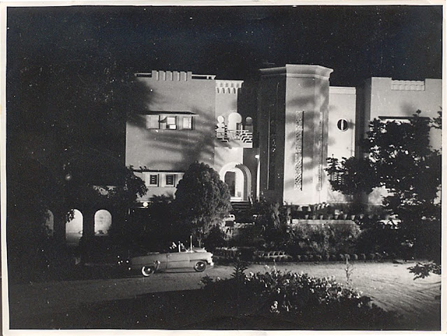 "The ""Alhambra"" was the residence of Mohamed Fayazuddin, a prominent figure in the erstwhile Hyderabad architectural scene. It was on Rd. # 11, Banjara Hills till the late 90s, when it was demolished."