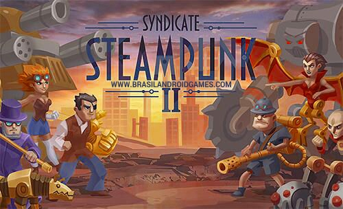 Steampunk Syndicate 2: Tower Defense Game Imagem do Jogo