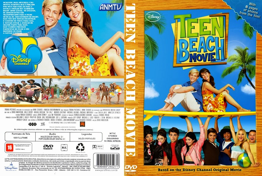 Baixar Filme Teen+Beach+Movie  Teen Beach Movie (2013) BDRip AVi Legendado torrent