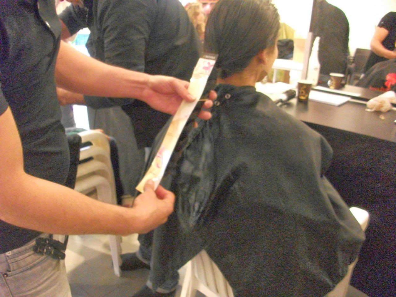 Donating hair for cancer patients 2014  - 1291632_539677572815207_1100407150_o.jpg