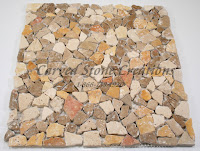 12x12 Tuscany Noce Tumbled Chip