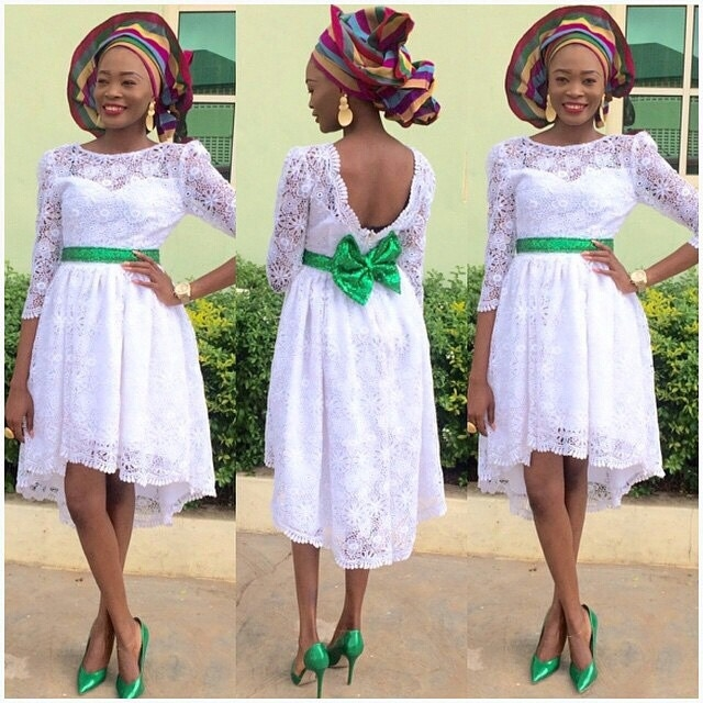 Stunning Asoebi Short Gown Styles