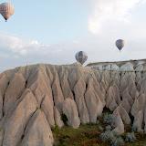 Over Cappadocia. Central Anatolia. 2011