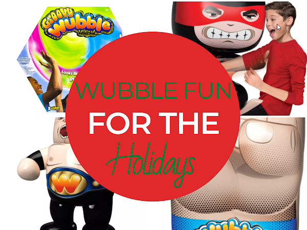 Wubble Fun for the Holidays + GIVEAWAY