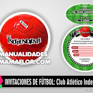 Invitaciones Balón del Club Atlético Independiente