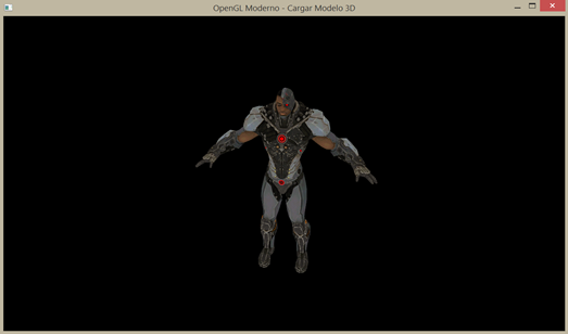 opengl model 3d