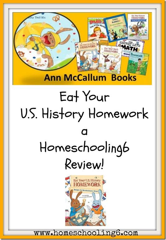 McCallum Review Eat Your U.S. History Homework